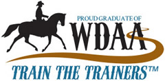 Western Dressage Association of America's Train the Trainer logo